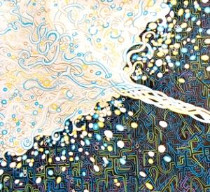Dionysus by Meghan Oona Clifford detail 1