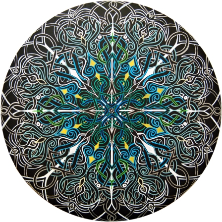 Alignment Mandala by Meghan Oona Clifford web