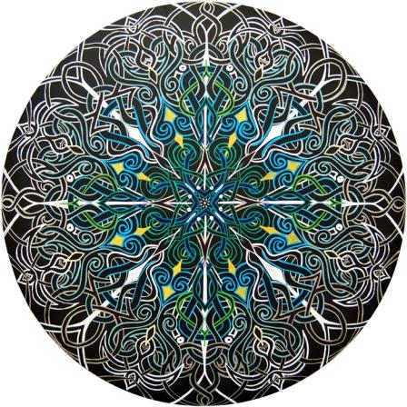 Alignment Mandala by Meghan Oona Clifford web