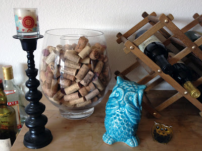 Owl, Candle, Corks. Photo by Meghan Oona Clifford | www.RealeyesGallery.com