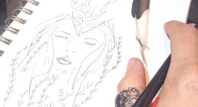 sketch by meghan oona