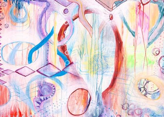 urban modern abstract art, west coast abstraction, santa cruz artists, san francisco contemporary abstract art