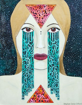 tara mcpherson, meghan oona clifford, goddess art, modern contemporary geometric art, geometric san francisco art