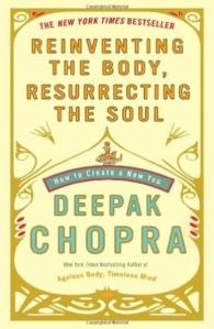 spiritual book list, deepak chopra for enlightenment