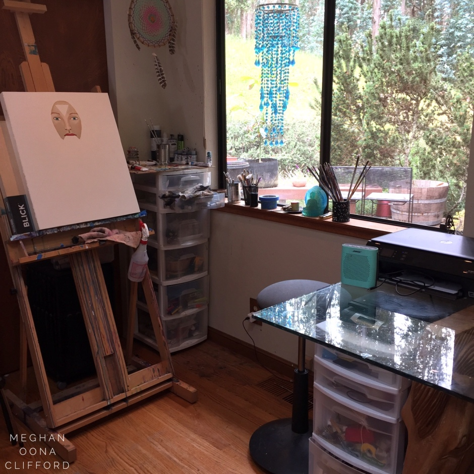 meghan oona clifford art studio