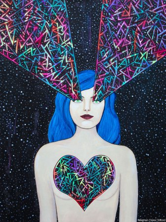 meghan oona clifford, tara mcpherson, geometric fashion modern art, interior decor modern geometric fashion art