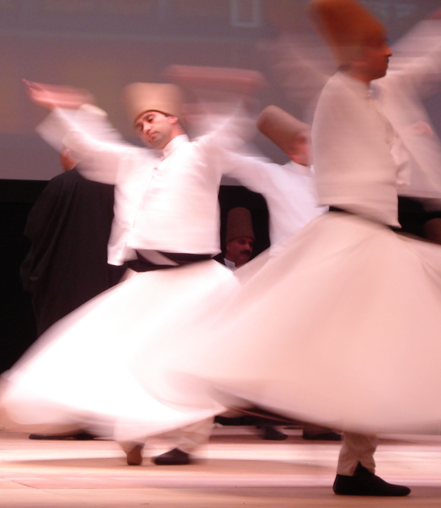 Whirling dervishes, photo by widiastuti/flicker