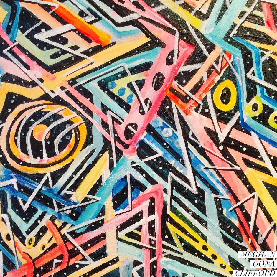 alex grey inspired, android jones inspired, awakening feminist art, dmt art, erik jones inspired, juxtapoz visionary art, lsd art, meghan oona clifford art, modern celtic knot work, modern celtic knotting, new contemporary art, pop surrealism art, spiritual feminine new contemporary art, tara mcpherson inspired, thinkspace gallery art, visionary artist painting
