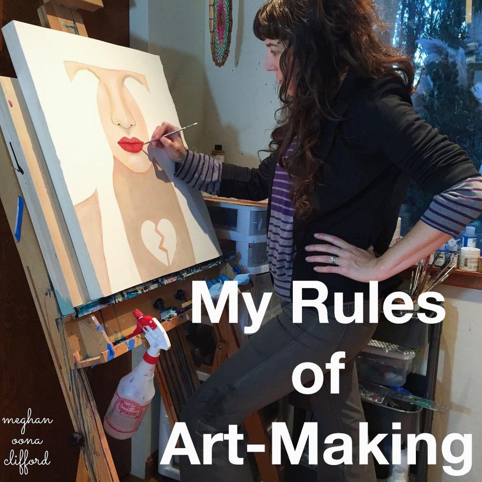 creativity workshop, meghan oona, megan oona, art workshop, online art working, online painting workshop, online painting class, online painting course